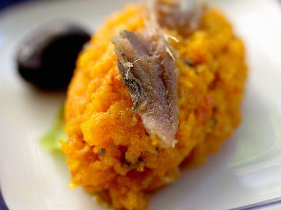 Karottenmousse