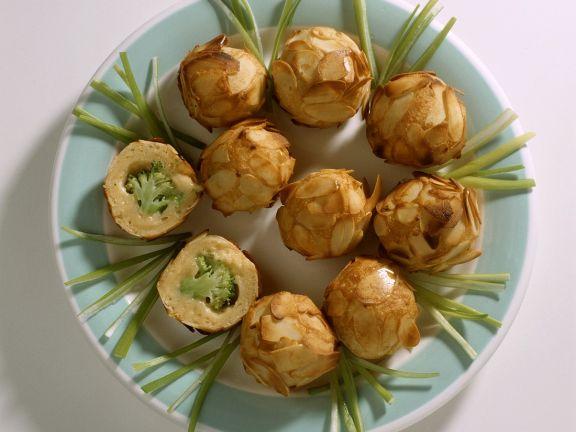 Kartoffel-Brokkoliklößchen