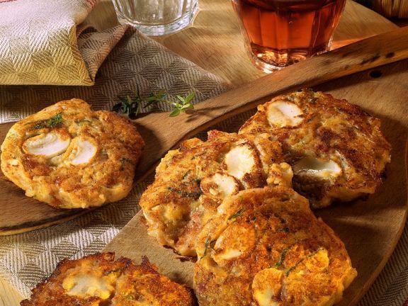 Kartoffel-Champignonpuffer