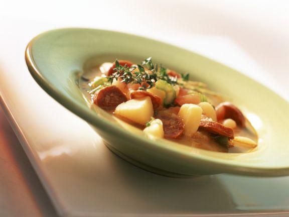 Kartoffel-Chorizo-Eintopf