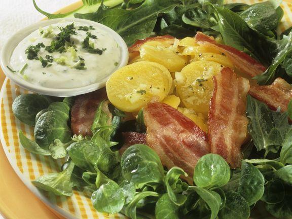 Kartoffel-Feldsalat