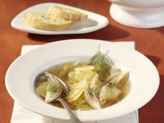 Kartoffel-Fenchel-Suppe