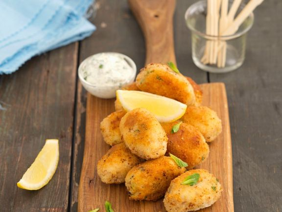 Kartoffel-Fischbällchen
