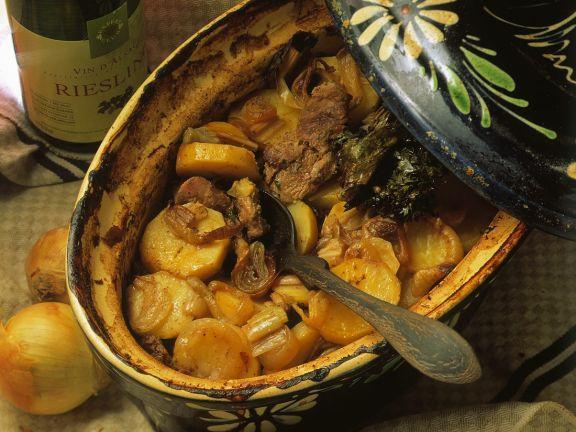 Kartoffel-Fleischeintopf