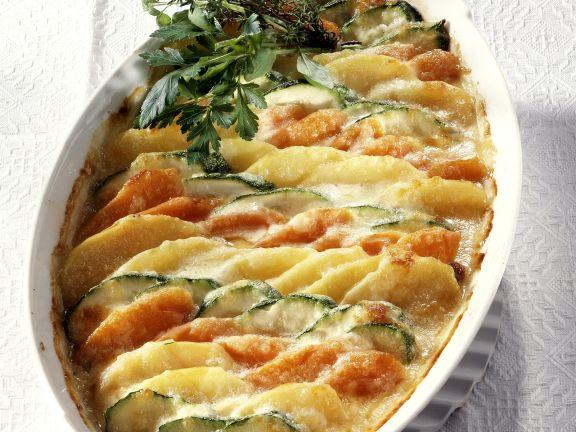 Rezept kartoffeln und gemuse im backofen