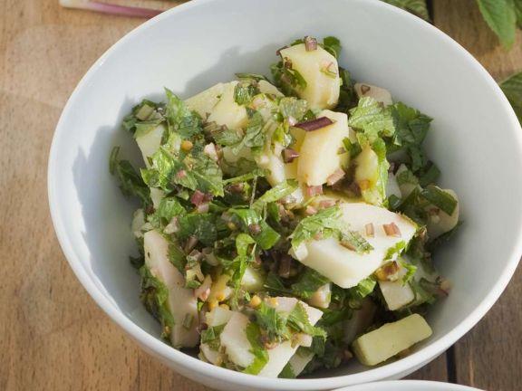 Kartoffel-Gierschsalat