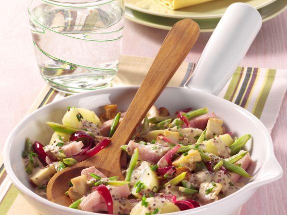 Kartoffel-Kasseler-Pfanne