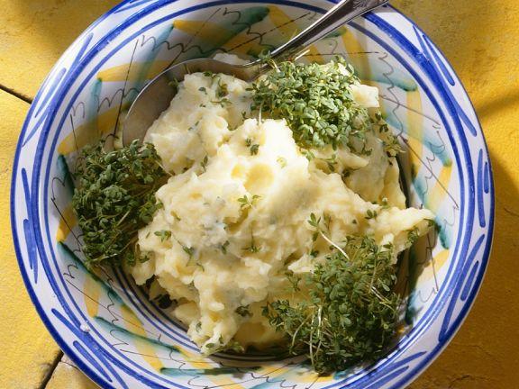 Kartoffel-Kressepüree