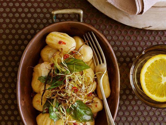 Kartoffel-Kürbisgnocchi