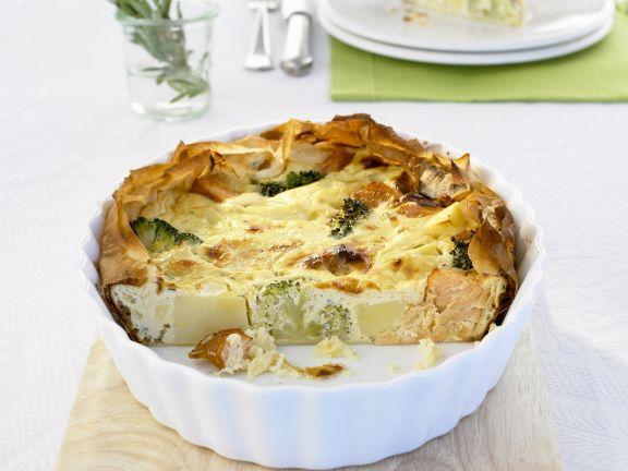 Kartoffel-Lachs-Kuchen