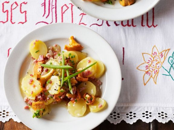 Kartoffel-Pfifferlingssalat
