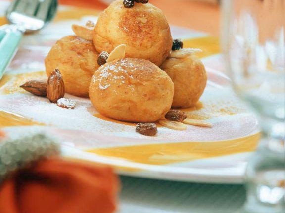Kartoffel-Quarkklößchen
