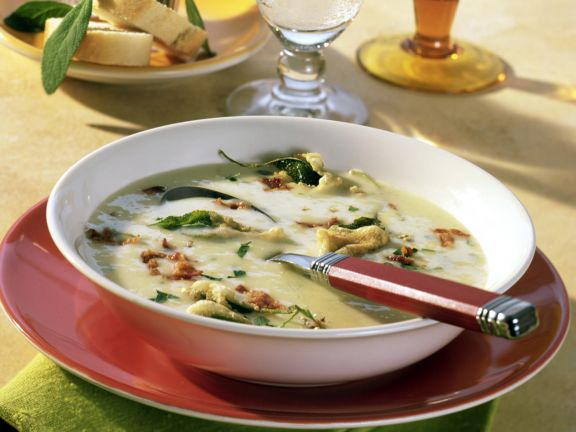 Kartoffel-Senf-Cremesuppe
