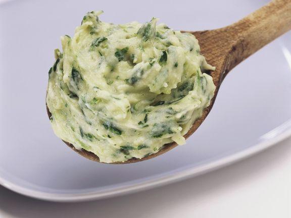 Kartoffel-Spinatpüree
