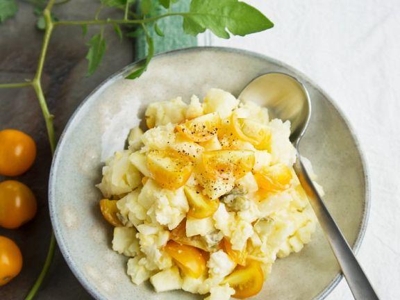 Kartoffel-Tomatensalat