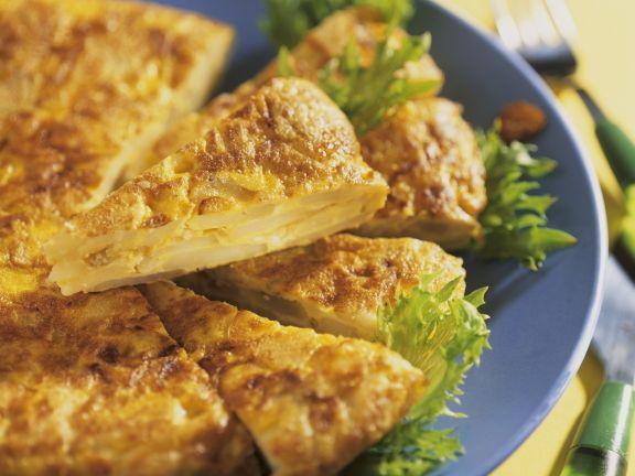 Kartoffel-Tortilla aus Spanien