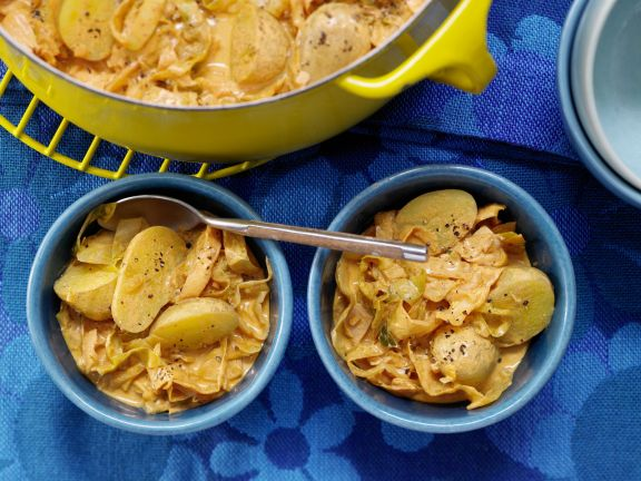 Kartoffel-Weißkohl-Ragout