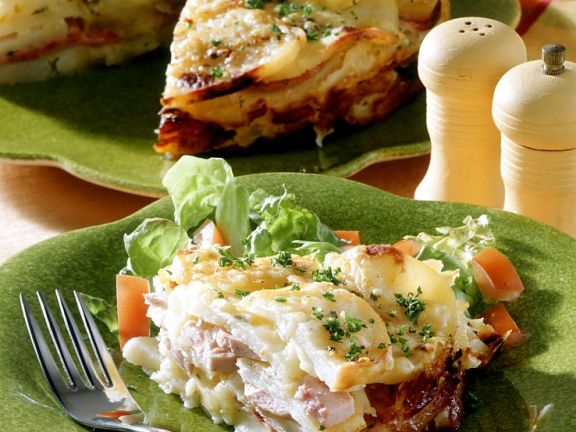 Kartoffel-Wurst-Kuchen