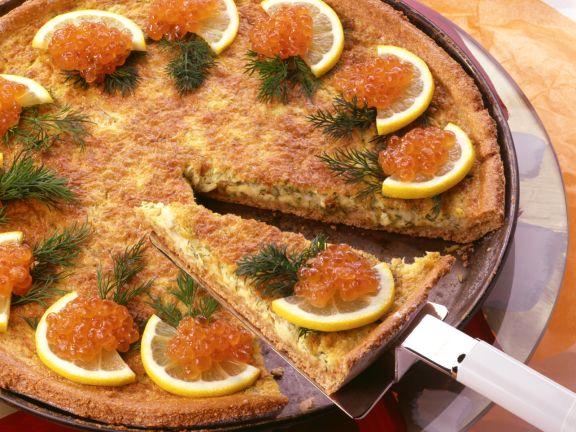 Kartoffel-Zwiebel-Tarte