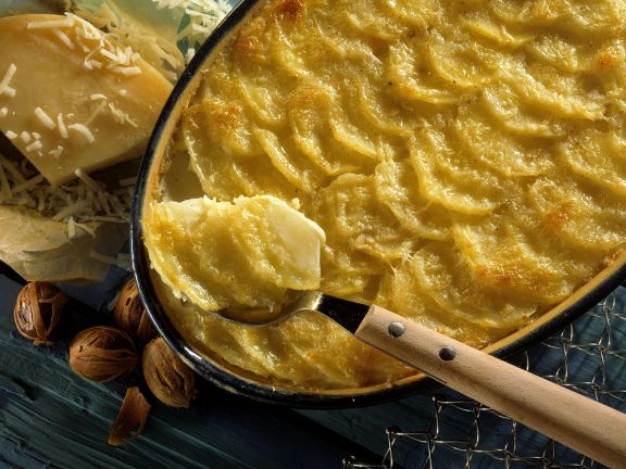 Kartoffelgratin auf französische Art