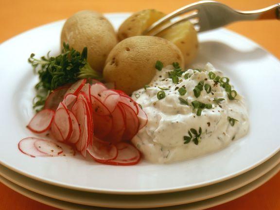 Kartoffeln mit Quark