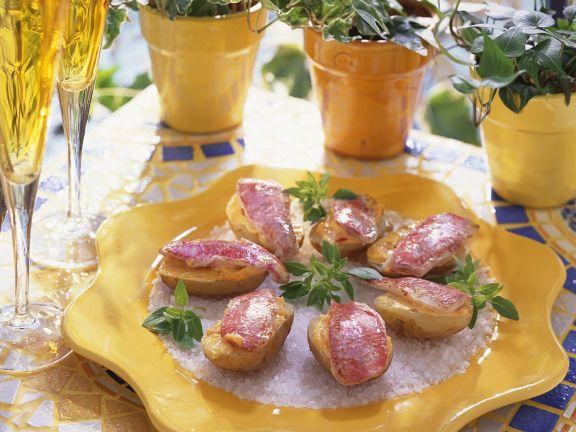 Kartoffeln mit Rotbarbe