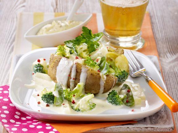 Kartoffeln mit Sommergemüse