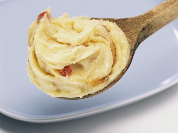 Kartoffelpüree mit Speck