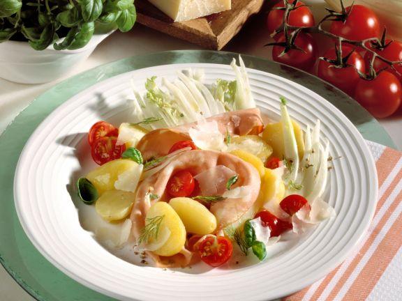 Kartoffelsalat auf italienische Art