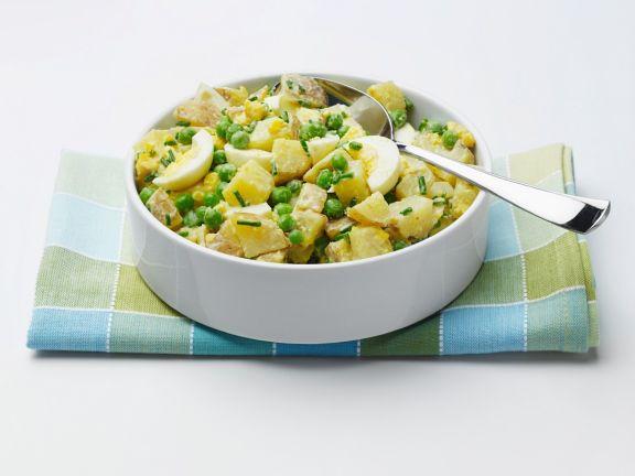 Kartoffelsalat mit Ei und Joghurt