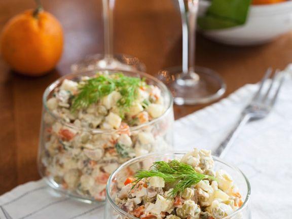 Kartoffelsalat Olivier
