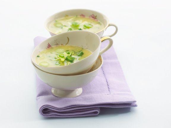Zucchini kartoffel suppe rezept
