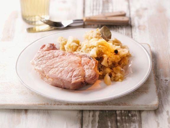 Kasseler und Sauerkraut