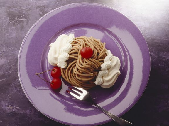 Kastanien-Spaghetti