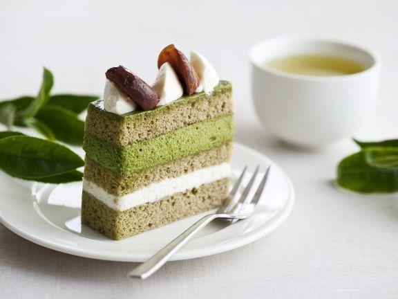 Kastanien-Teekuchen