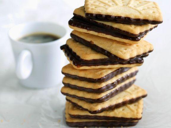 Kekse mit Schokolade, glutenfrei