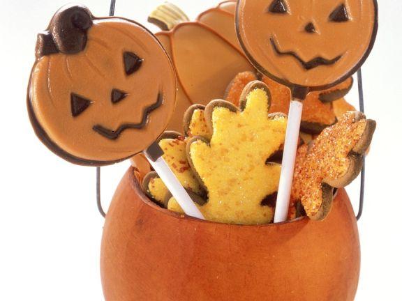Kekse zu Halloween