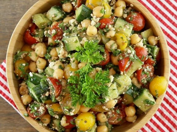 Kichererbsen Feta Salat Rezept Eat Smarter