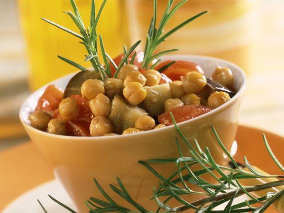 Kichererbsen-Gemüse-Topf