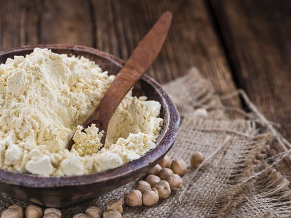 Glutenfreies Mehl: Kichererbsenmehl