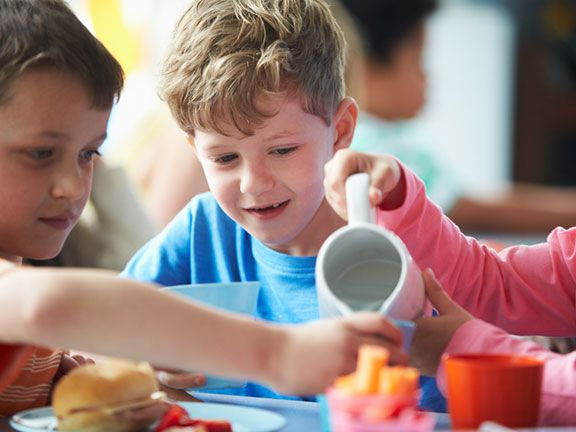 """""""Ernährung"""" als Schulfach gefordert"""