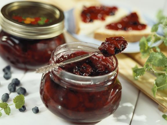 Kirsch-Beeren-Marmelade