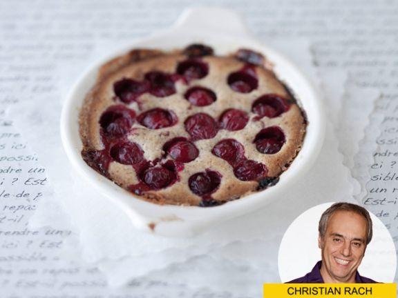 Christian Rach-Rezept für Kirsch-Clafoutis