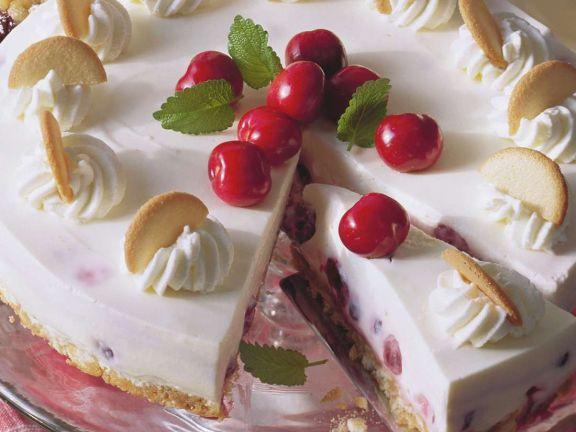Kirsch Frischkase Kuchen Rezept Eat Smarter