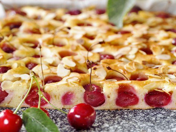 Kirsch Mandel Kuchen Rezept Eat Smarter