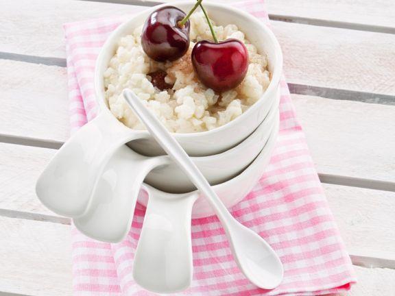 Kirsch-Milchreis