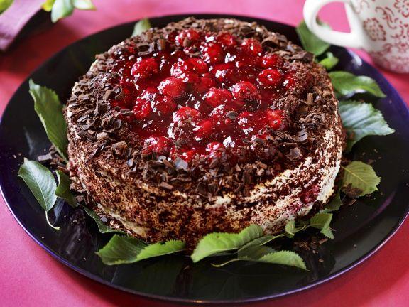 Kirsch-Nuss-Torte