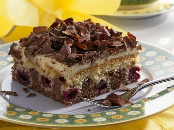 Kirsch-Schokoladenkuchen (Schneewittchenkuchen)