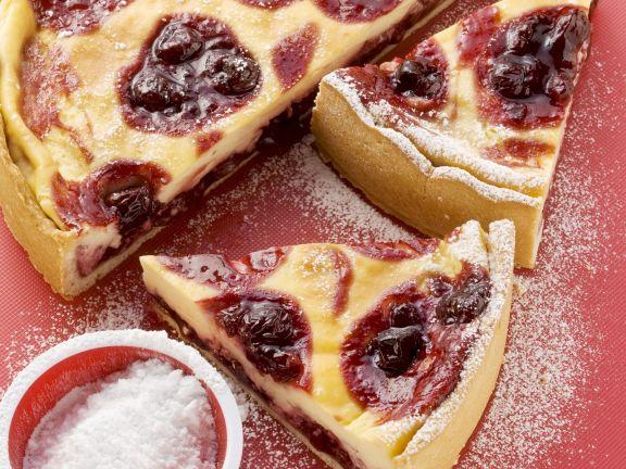 Kirschen Schmand Kuchen Rezept Eat Smarter