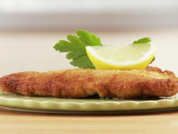 Klassisches Wiener Schnitzel herstellen